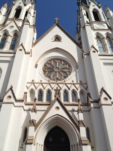 Cathedral of St. John the Baptist, Savannah, GA. Photo by author.