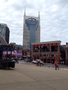 Downtown Nashville. Photo by author.